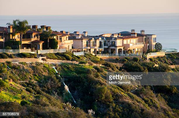 Laguna Beach hillside homes