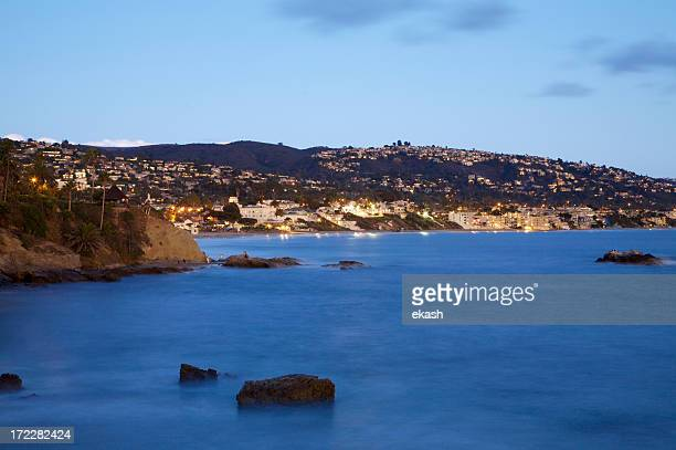 Laguna Beach in Twilight