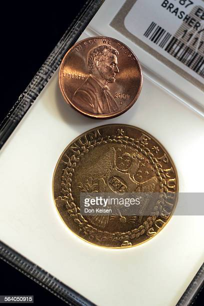 A Laguna Hills man Steven Contursi purchased a 3 million dollar gold coin The unique 1787 Brasher Doubloon at an auction last month known as the...