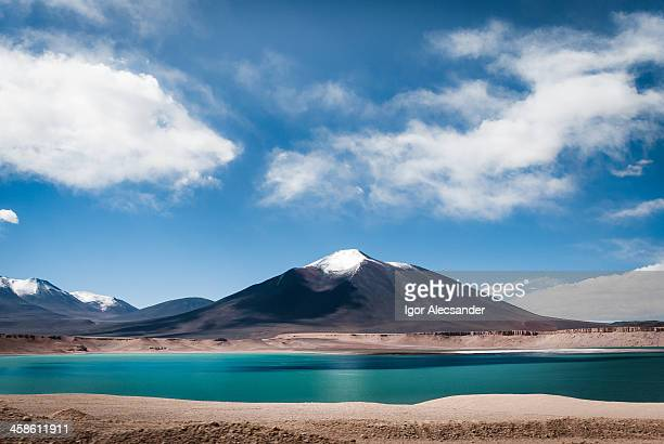 Laguna Verde in Andes Mountains