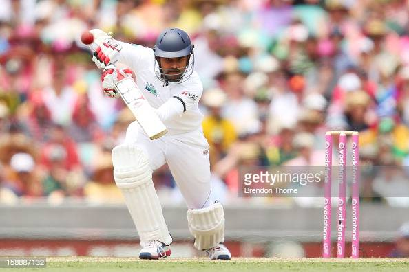 Lahiru Thirimanne of Sri Lanka bats during day one of the Third Test match between Australia and Sri Lanka at the Sydney Cricket Ground on January 3...