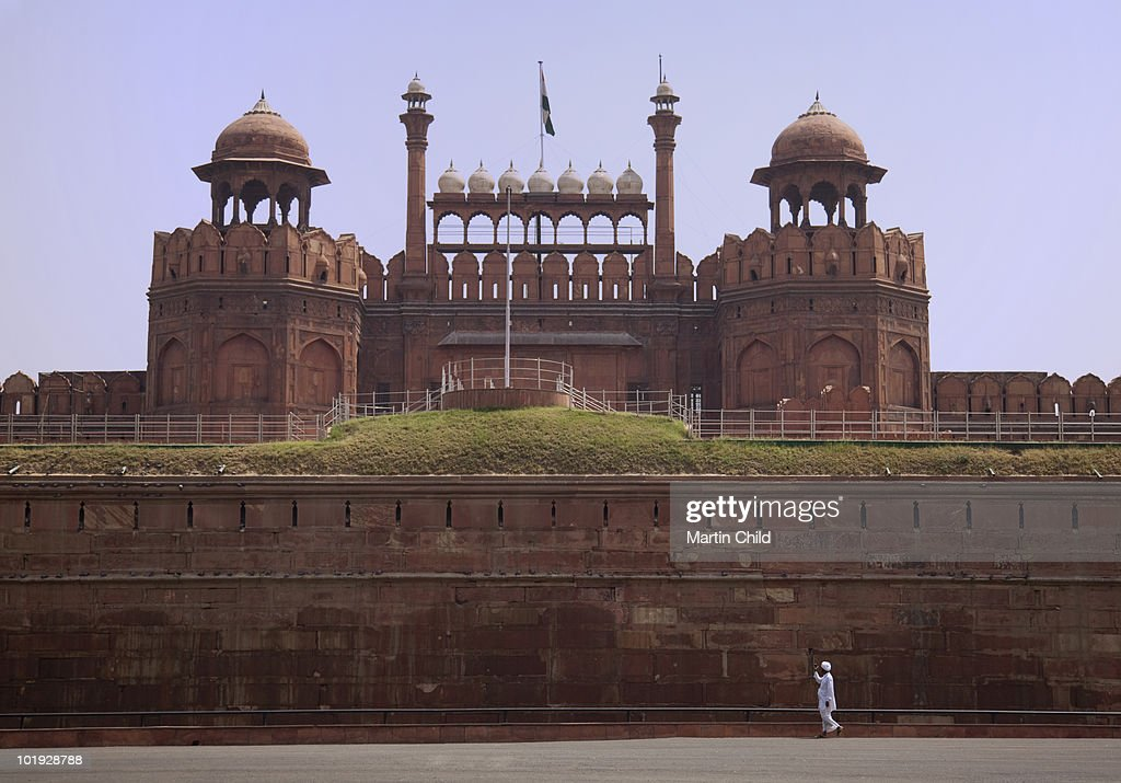 Lahore Gate entrance to the Red Fort : Stock Photo