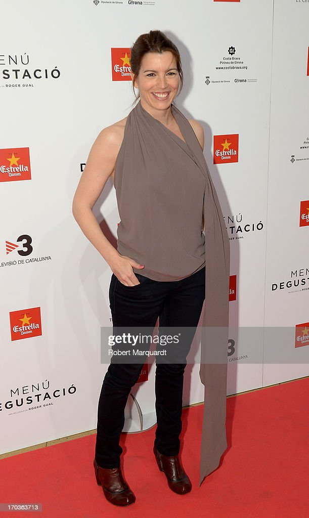 Laia Marull attends the premiere of 'Menu Degustacion' at Comedia Cinema on June 10, 2013 in Barcelona, Spain.