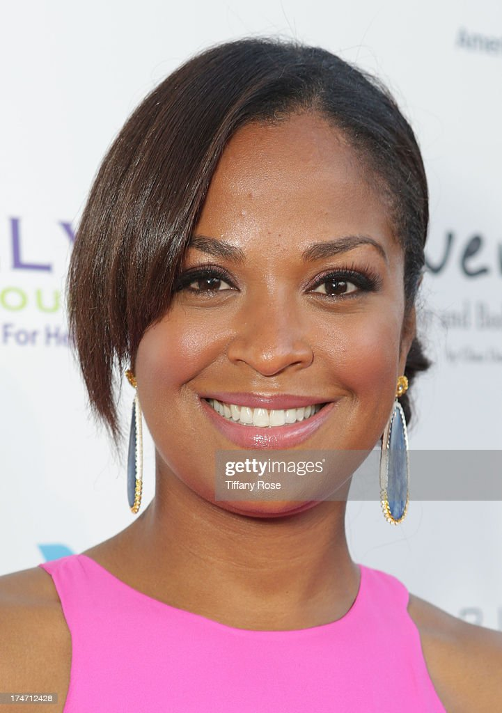 Laila Ali attends the 15th Annual DesignCare benefiting The HollyRod Foundation on July 27, 2013 in Malibu, California.