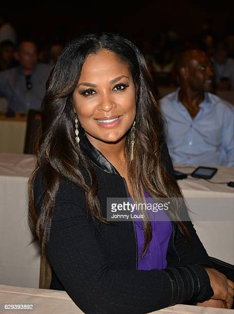 Laila Ali attends the 54th Annual WBC Convention at Diplomat Resort Spa Hollywood Curio Collection by Hilton on December 12 2016 in Hollywood Florida