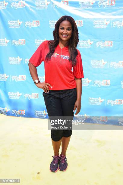Laila Ali attends the Children's Hospital Los Angeles Inaugural Play LA Fundraiser at The LA Coliseum on August 5 2017 in Los Angeles California