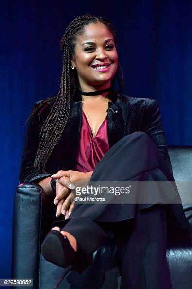 Laila Ali receives the Boxing Legacy Award and speaks with her sister Maryum Ali at the 15th Annual Sports Museum Tradition Awards Ceremony at TD...