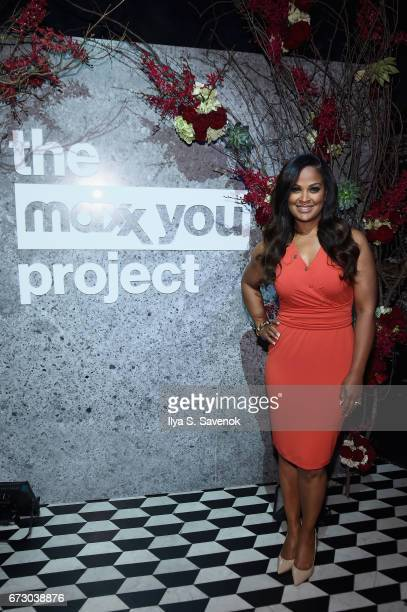 Laila Ali teamed up with TJMaxx to launch 'The Maxx You Project' encouraging women to let their individuality shine in New York City on Tuesday April...