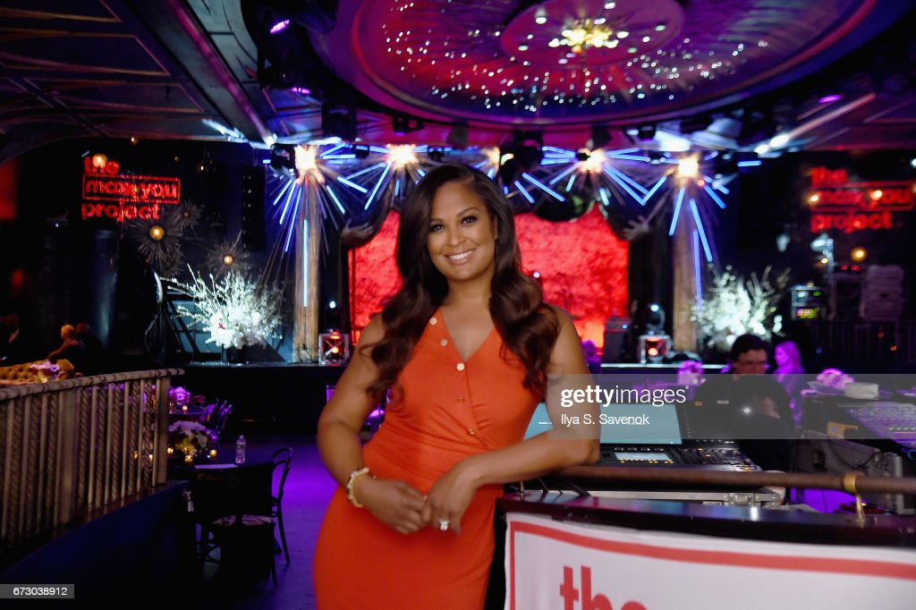 Laila Ali teamed up with T.J.Maxx to launch 'The Maxx You Project,' encouraging women to let their individuality shine, in New York City on Tuesday, April 25, 2017.