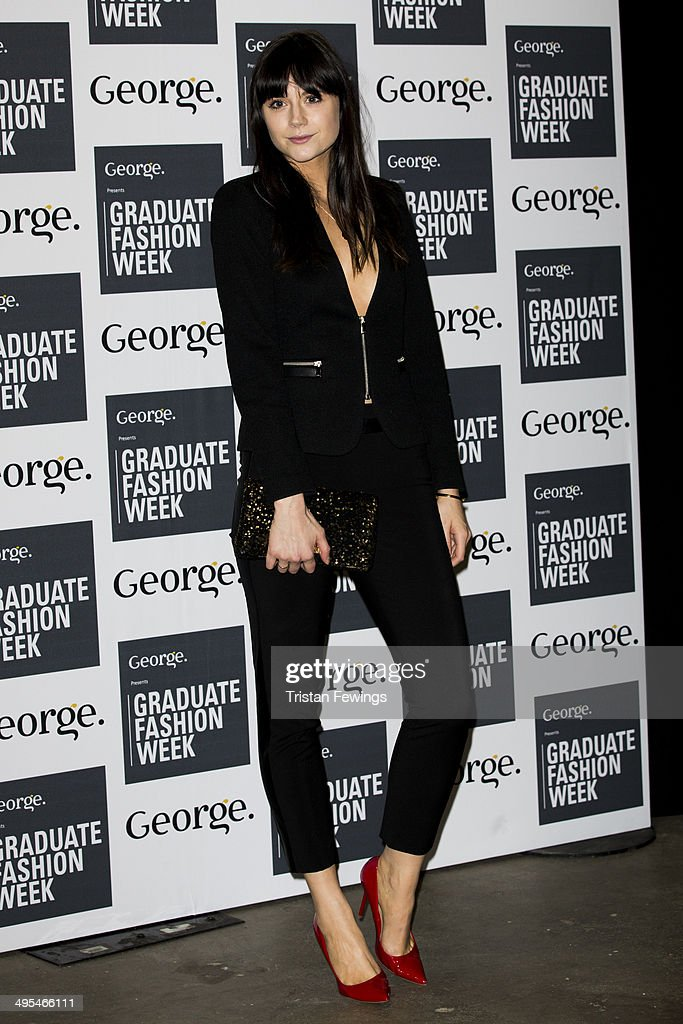 Laila Parsons arrives at the GWF Awards Show during day 4 of Graduate Fashion Week 2014 at The Old Truman Brewery on June 3, 2014 in London, England.