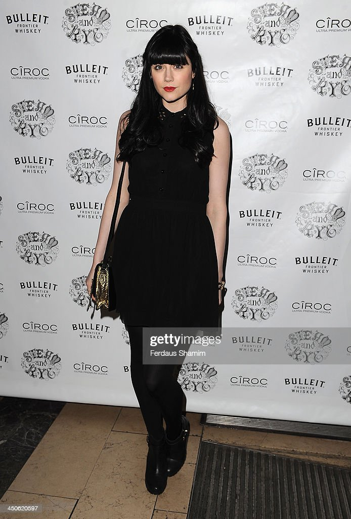 Laila Parsons arrives for the 'Steam and Rye' resturent launch party on November 19, 2013 in London, United Kingdom.