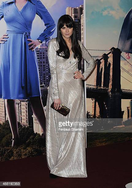 Laila Parsons attends the UK premiere of 'Anchorman 2 The Legend Continues' at Vue West End on December 11 2013 in London England