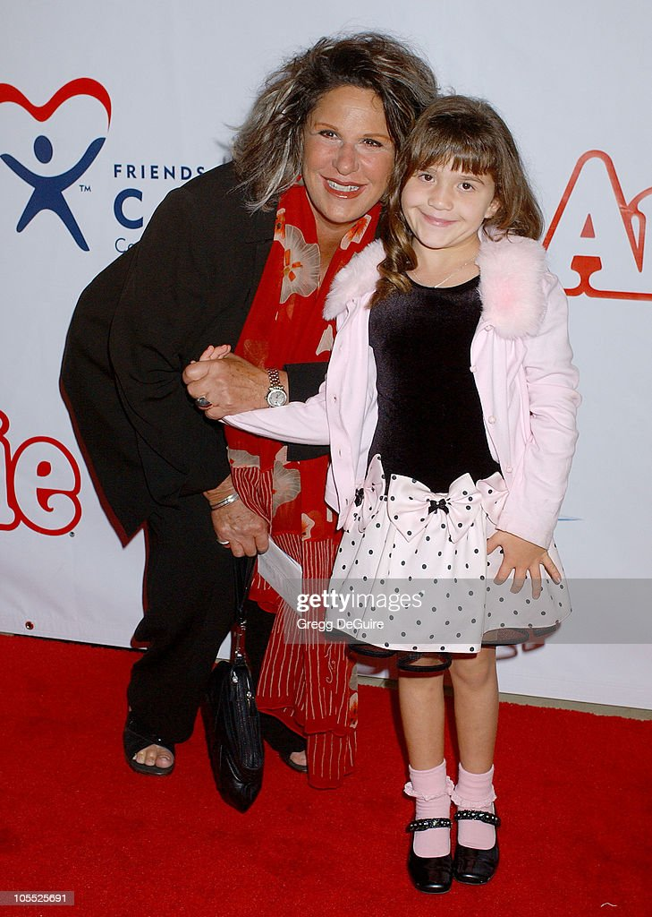 Lainie Kazan and granddaughter Bella during 'Annie' Opening Night to Benefit CASA of Los Angeles Arrivals at Pantages Theatre in Hollywood California...