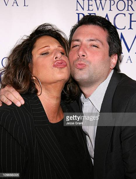 Lainie Kazan and Mario Macaluso during 2006 Newport Beach Film Festival 'Whiskey School' Screening at Edward's Island Cinemas in Newport Beach...