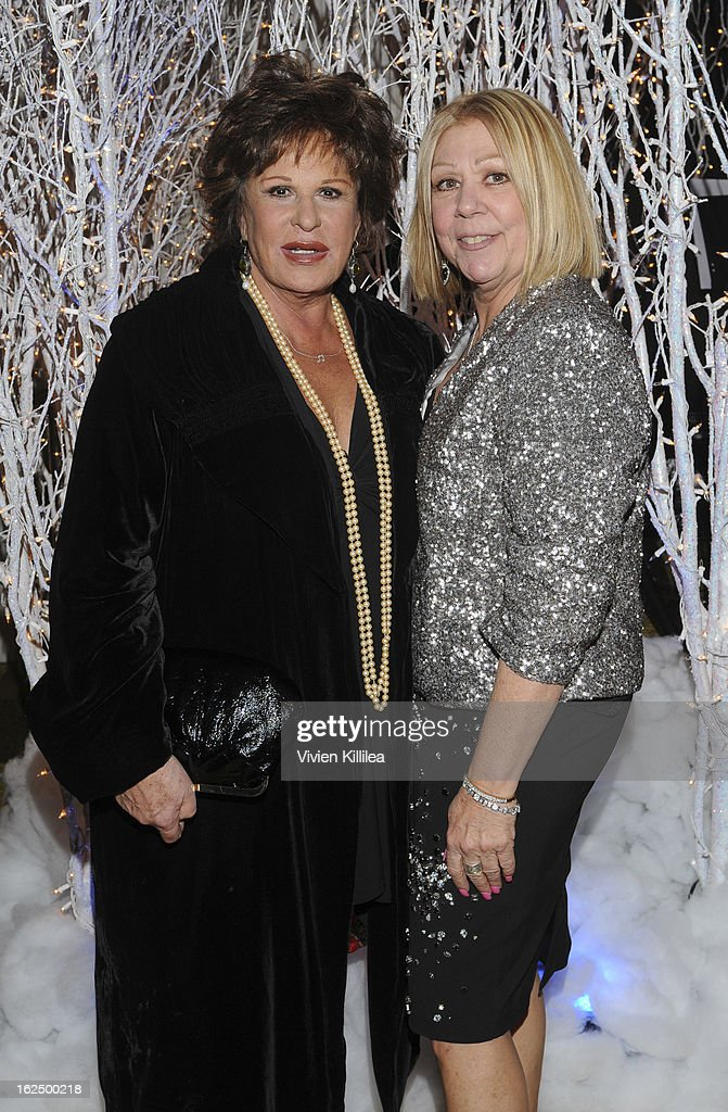 <a gi-track='captionPersonalityLinkClicked' href=/galleries/search?phrase=Lainie+Kazan&family=editorial&specificpeople=215362 ng-click='$event.stopPropagation()'>Lainie Kazan</a> and Nancee Borgnine attend The Borgnine Movie Star Gala at Sportsmen's Lodge Event Center on February 23, 2013 in Studio City, California.