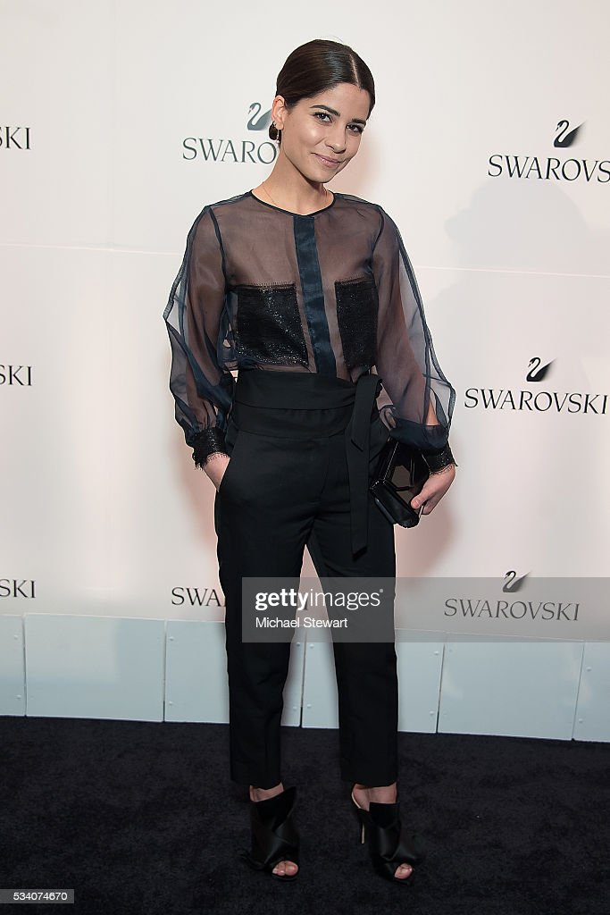 Lainy Hedaya attends Swarovski #bebrilliant at The Weather Room at Top of the Rock on May 24, 2016 in New York City.