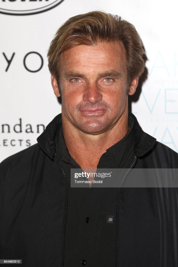 Laird Hamilton attends the Premiere of Sundance Selects' 'Take Every Wave: The Life Of Laird Hamilton' at ArcLight Hollywood on September 27, 2017 in Hollywood, California.