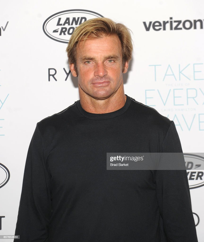 Laird Hamilton attends the 'Take Every Wave: The Life Of Laird Hamilton' New York Premiere at The Metrograph on October 4, 2017 in New York City.