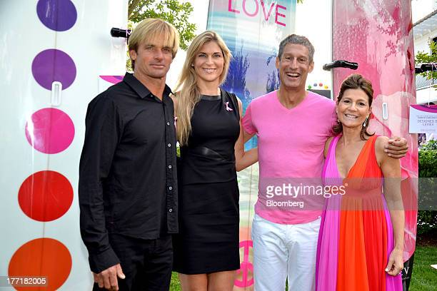 laird hamilton bigwave surfer and model from left gabrielle reece us volleyball olympian richard perry president