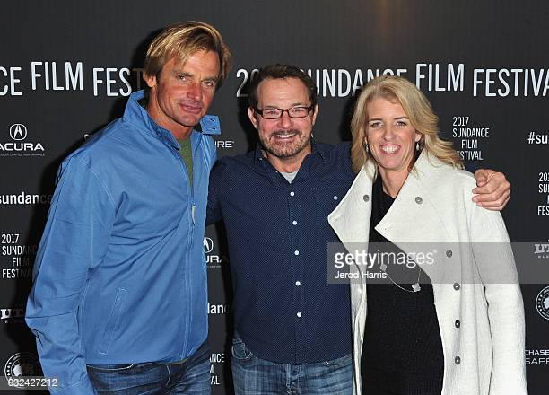 Laird Hamilton Sundance Film Festival Senior Programmer David Courier and Director Rory Kennedy attend the 'TAKE EVERY WAVE The Life Of Laird...