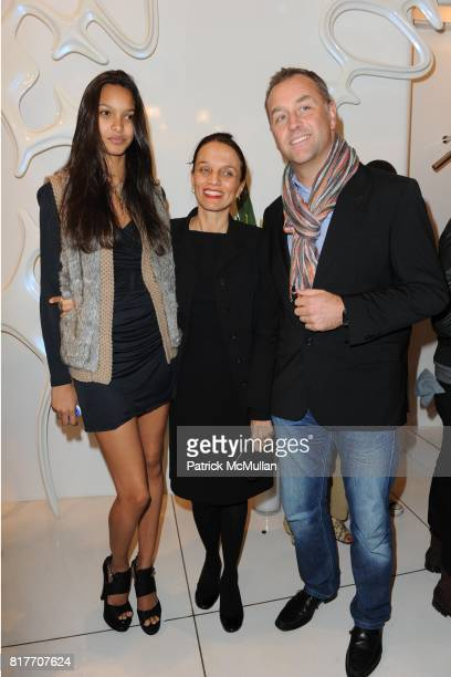 Lais Ribeiro and attend Carlos Miele and Vogue Italia Celebrate Limited Edition of TShirts Designed by Lapo Elkann and Bianca Brandolini CONTACT SIPA...