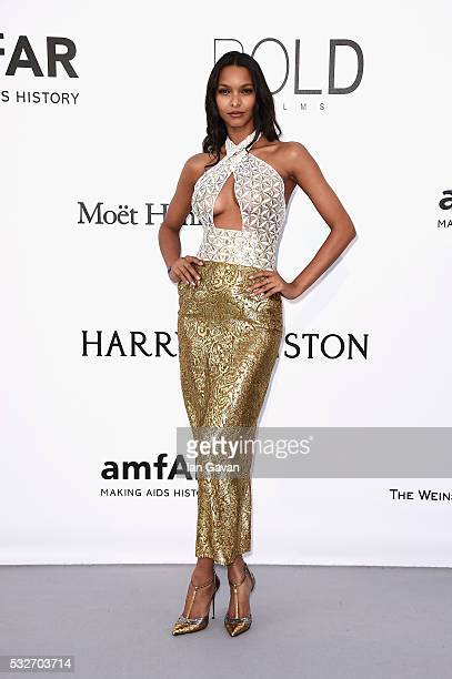 Lais Ribeiro arrives at amfAR's 23rd Cinema Against AIDS Gala at Hotel du CapEdenRoc on May 19 2016 in Cap d'Antibes France