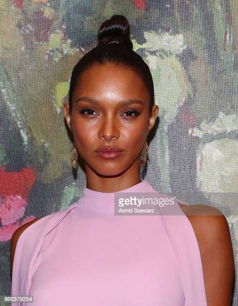 Lais Ribeiro attends 2017 Take Home A Nude Art party and auction at Sotheby's on October 11 2017 in New York City
