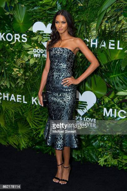Lais Ribeiro attends the 11th Annual God's Love We Deliver Golden Heart Awards at Spring Studios on October 16 2017 in New York City