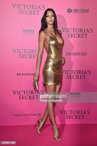 Lais Ribeiro attends the 2016 Victoria's Secret Fashion Show after party on November 30 2016 in Paris France