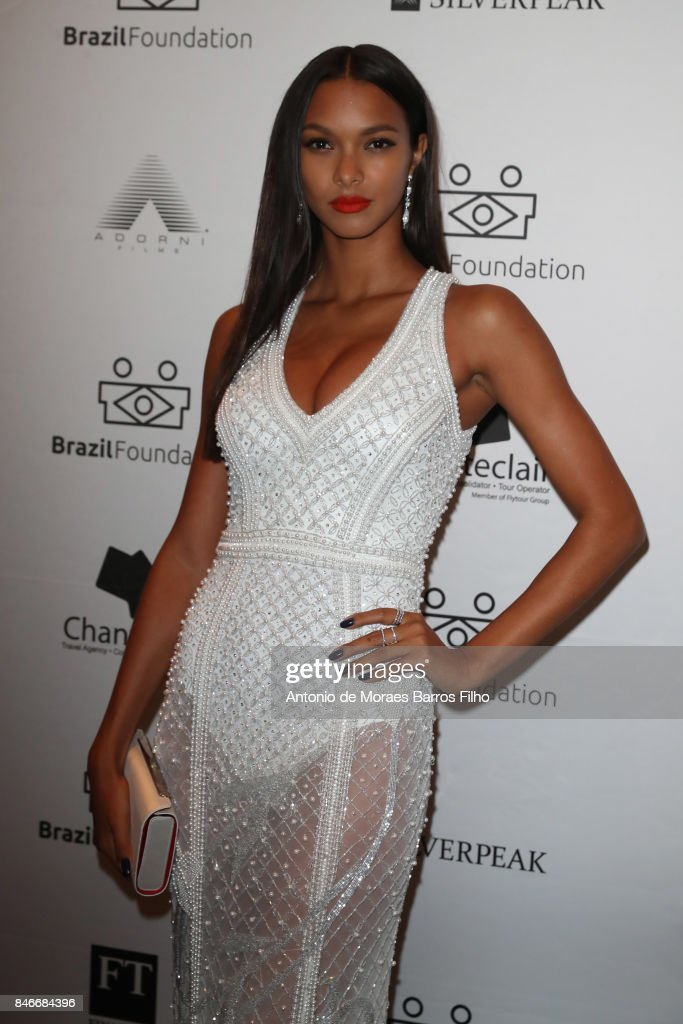 Lais Ribeiro attends the 2017 Brazil Foundation Gala on September 13, 2017 in New York City.