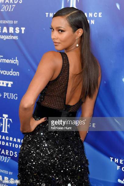 Lais Ribeiro attends the 2017 Fragrance Foundation Awards Presented By Hearst Magazines at Alice Tully Hall on June 14 2017 in New York City