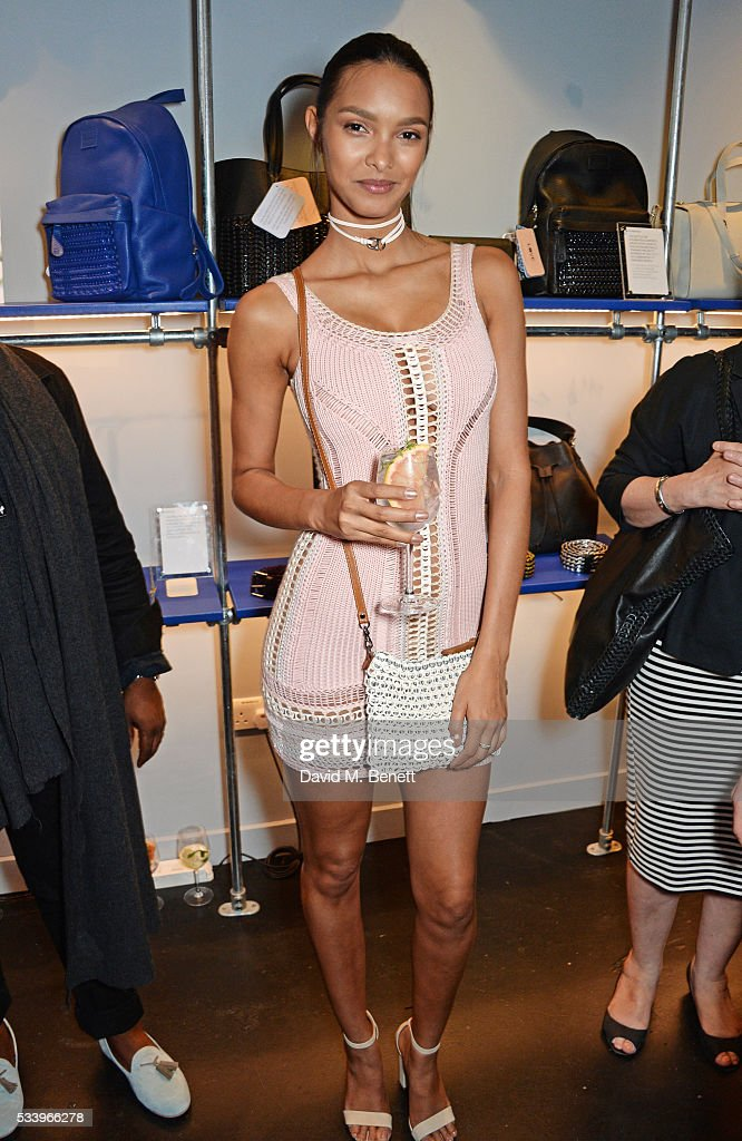 Lais Ribeiro attends the Bottletop Regent Street store launch on May 24, 2016 in London, England.