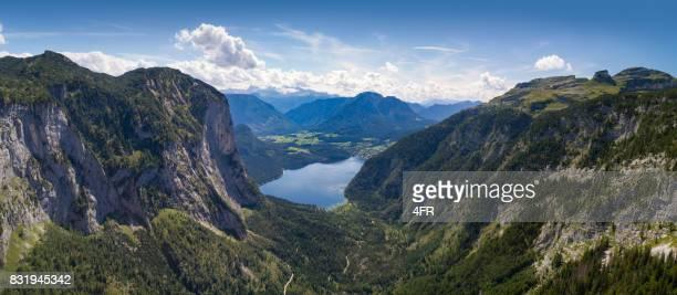 Altausseer See, Österreich - riesige Antenne Panorama