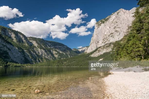 Lake Altaussee mit Mountain Trisselwand, Österreich