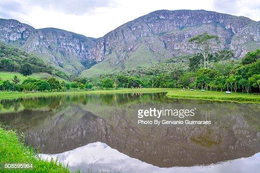 Lake and Mountain : Stock Photo