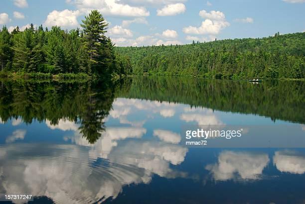 Lake and the sky