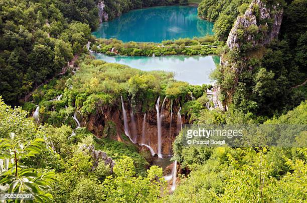 Lake and waterfalls - Plitvice Lakes