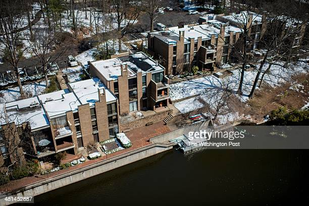 Lake Anne Village in Reston Virginia Wednesday March 26 2014