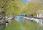 Lake Annecy in spring