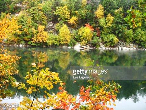 Lake at Mohonk Mountain House : Photo
