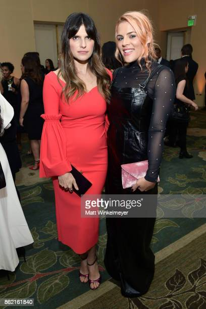 Lake Bell and Busy Philipps attend ELLE's 24th Annual Women in Hollywood Celebration presented by L'Oreal Paris Real Is Rare Real Is A Diamond and...