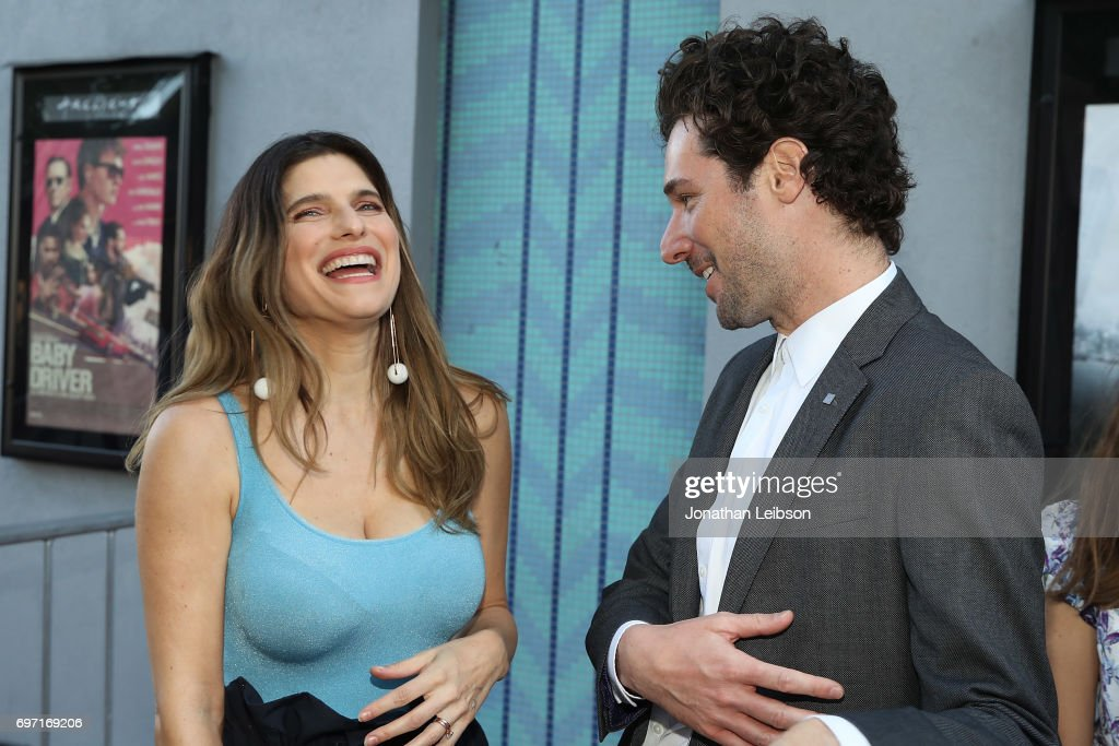Lake Bell and Jonathan Saba attend the AT&T And Saban Films Present The LAFF Gala Premiere Of Shot Caller at ArcLight Cinemas on June 17, 2017 in Culver City, California.