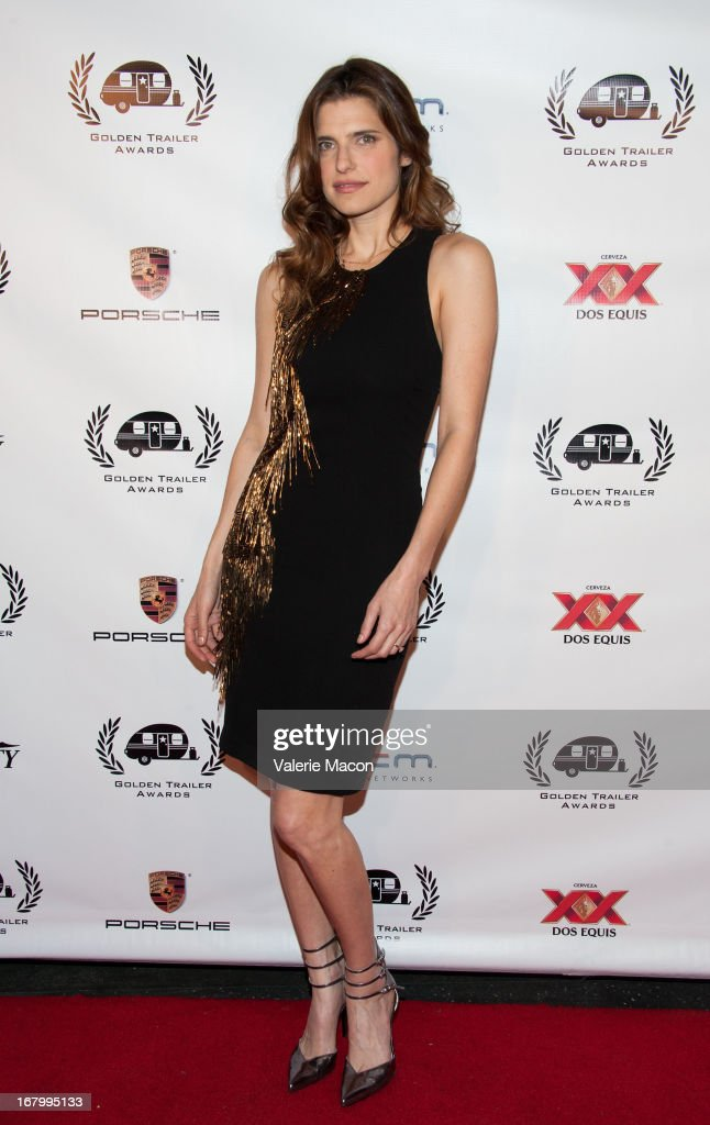 <a gi-track='captionPersonalityLinkClicked' href=/galleries/search?phrase=Lake+Bell&family=editorial&specificpeople=209336 ng-click='$event.stopPropagation()'>Lake Bell</a> arrives at the 14th Annual Golden Trailer Award at Saban Theatre on May 3, 2013 in Beverly Hills, California.