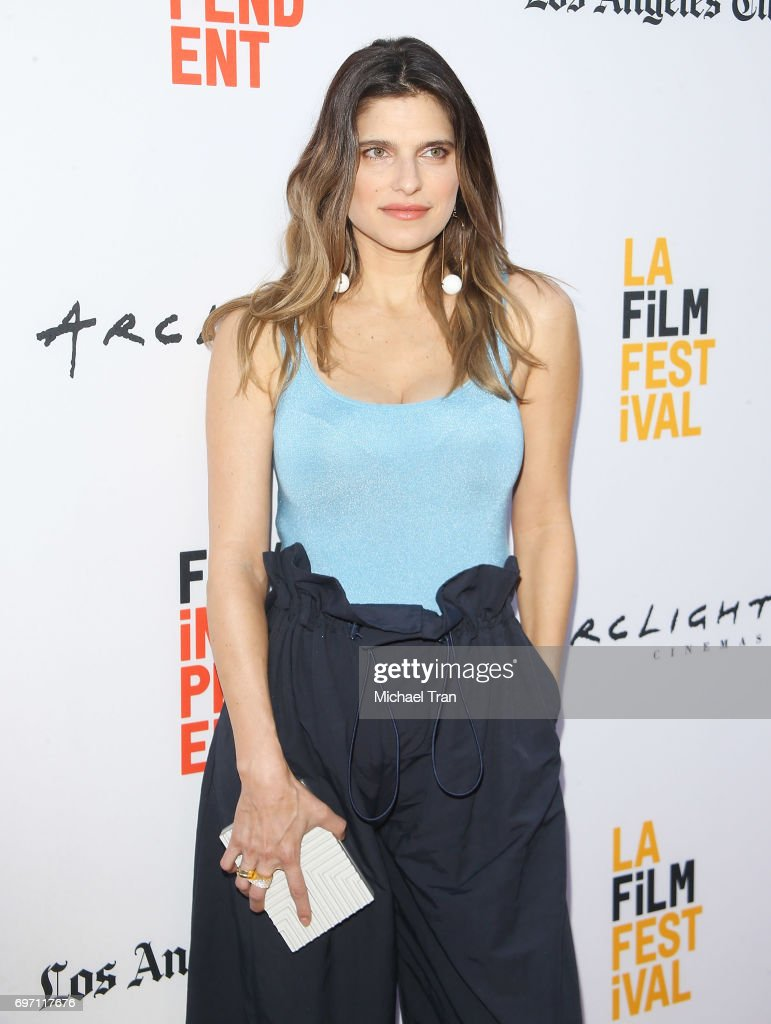 Lake Bell arrives at the 2017 Los Angeles Film Festival - Gala Screening of 'Shot Caller' held at Arclight Cinemas Culver City on June 17, 2017 in Culver City, California.