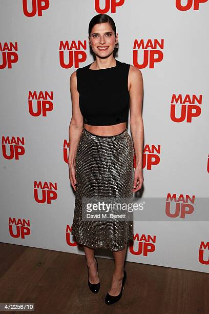 Lake Bell attends a VIP screening of 'Man Up' at the Ham Yard Hotel on May 5 2015 in London England