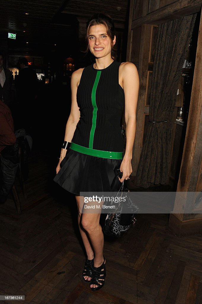 Lake Bell attends Grey Goose hosted Sundance London Filmmaker Dinner at Little House on April 24, 2013 in London, England.