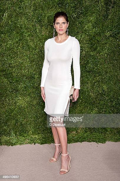 Lake Bell attends the 12th annual CFDA/Vogue Fashion Fund Awards at Spring Studios on November 2 2015 in New York City