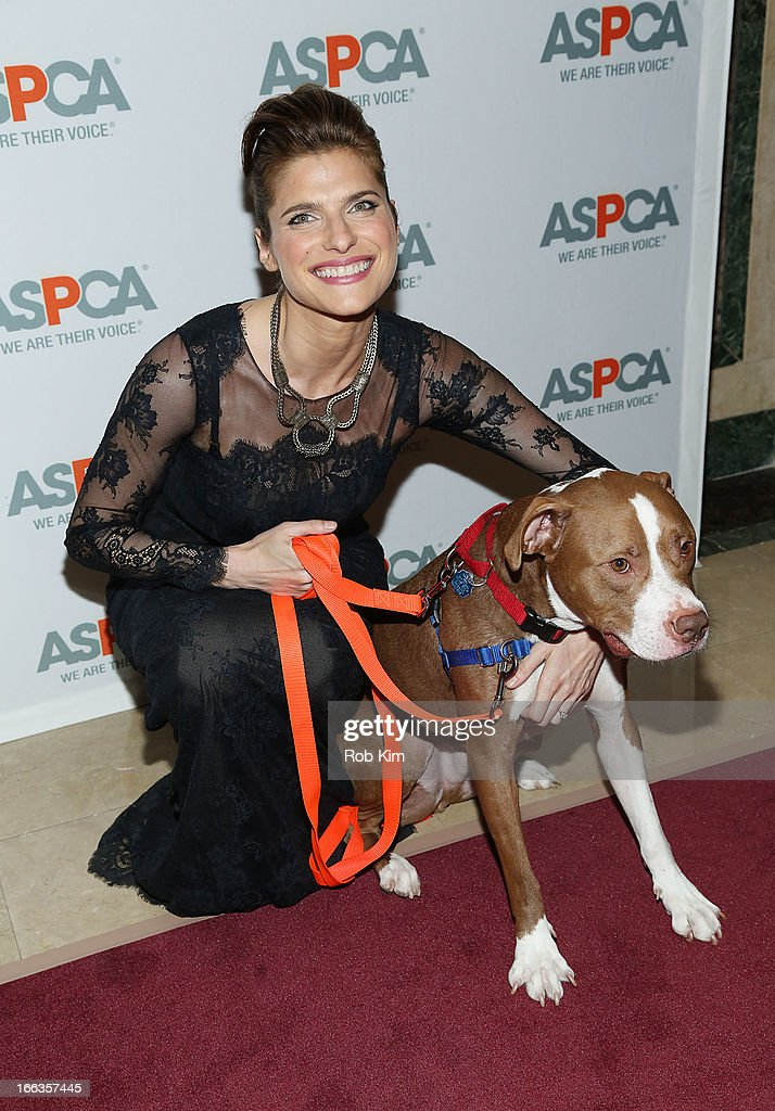 Lake Bell attends the 16th Annual ASPCA Bergh Ball at The Plaza Hotel - 5th Avenue on April 11, 2013 in New York City.