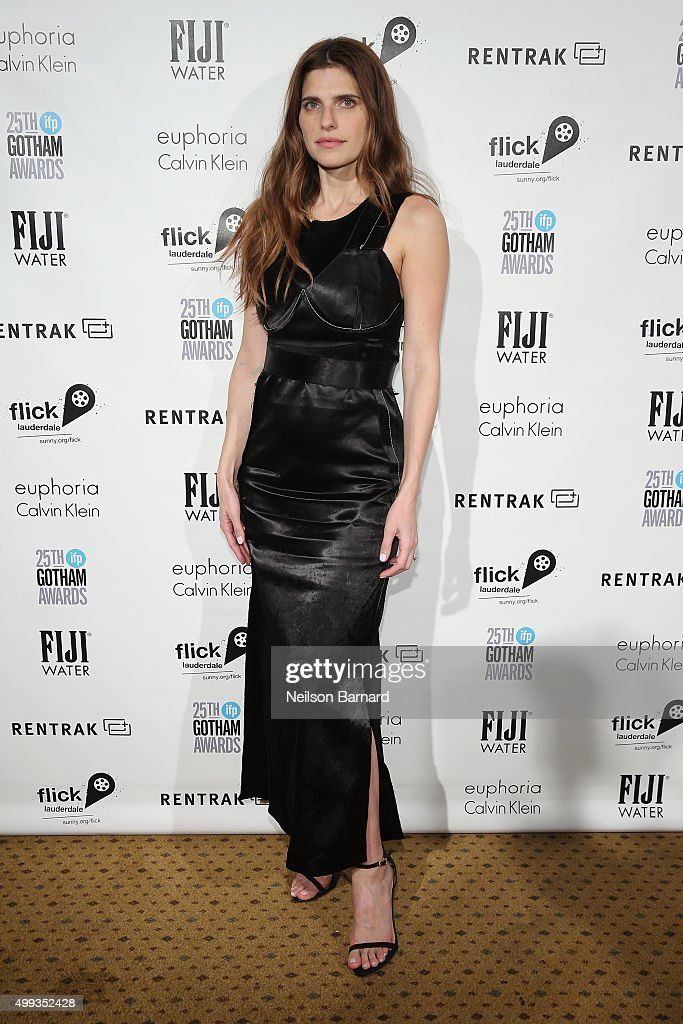 Lake Bell attends the 25th IFP Gotham Independent Film Awards cosponsored by FIJI Water at Cipriani Wall Street on November 30 2015 in New York City
