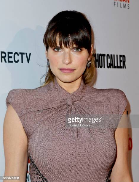 Lake Bell attends the screening of 'Shot Caller' at The Theatre at Ace Hotel on August 15 2017 in Los Angeles California